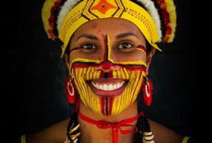 Kairuku/ Mekeo cultural attire, Central Province, Papua New Guinea