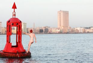 Red Float Havana Bay