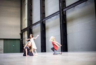 Les 3 fillettes du Tate Modern