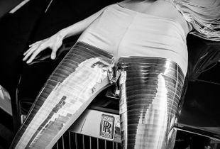 Rolls-Royce Wraith by SZYMON BRODZIAK Photography starring Ludwika Cichecka for moto.pl.