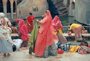 Hindi Women Bathing