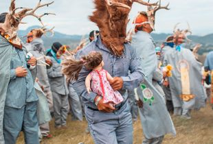 Danza de los Pukes, Michoacan, Mexico