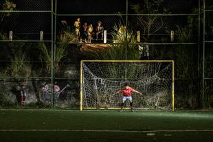 "Francischelio Gomez Silva, ""Morro dos Prazeres"" goalkeeper"
