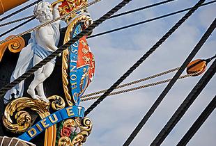 HMS Victory, figurehead.