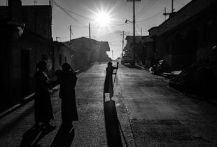 Morning in Zinacantan Village