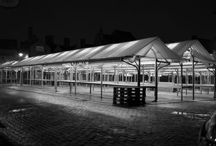 Shambles Market at night