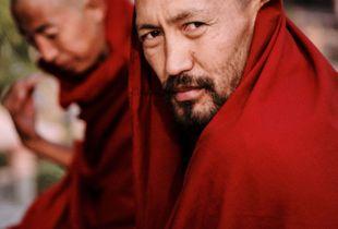 Monk in Bodhgaya
