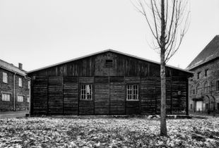The laundry building for the members of the SS. KL Auschwitz I © Tomasz Lewandowski, Winner, LensCulture Emerging Talent Awards 2017