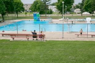 Fairfax community pool