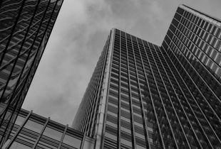 Architecture, bâtiments et verre