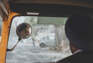 Rickshaw Driver, New Delhi