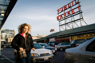 From the series, Visitors of Pike Place Market in Seattle