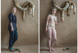 """Elena. Series of photos """"Remove clothes"""""""
