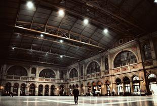 Die Hauptbahnhofs Halle von Zürich