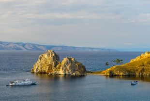 Shaman Rock, Olkhon Island