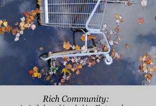book cover, RICH COMMUNITY: AN ANTHOLOGY OF APPALACHIAN PHOTOGRAPHERS. Edited by David Underwood.