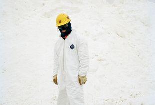 Silvanite miner, Bolivia.