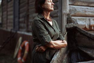 Vitalija, Wife of the Departed Artist