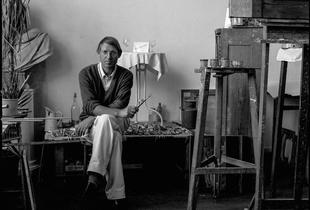 Dieter Kraemer, Kölner Künstler,Ali Ritter, Portrait