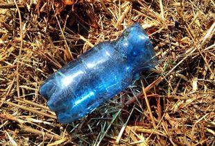 Blue-Plastic