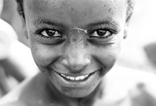 the boy of the ethiopian lake