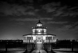Texas City Dike - Halfmoon Shoal Lighthouse