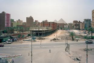 Al Labeini Drain Road, Nazlet Al Batran, Al Haram, Giza Governorate, 2011