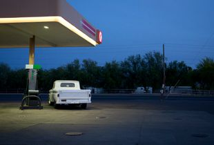 Twilight Fuel Up. Southern Ave, Tolleson, AZ. 2017.