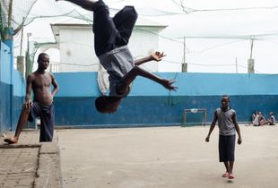 The day to day playfulness of former street children during a school break