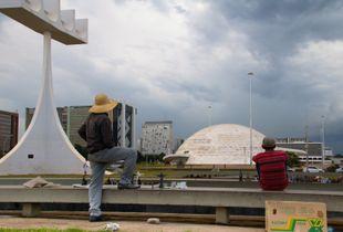 Camelôs, street sailors, Brasilia