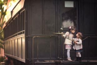 One train, one love.