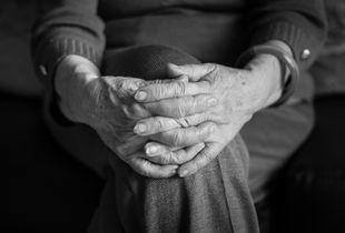 Mother hands.