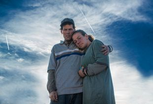 Homeless Couple Portrait