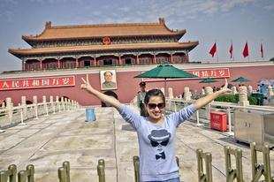 Tiannamen Square, Beijing, 2013