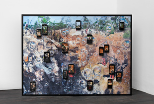 "Katanga Bub, 2011. Part of the exhibition ""Next Level: Anne De Vries - E¬_M E R G E"" at FOAM."