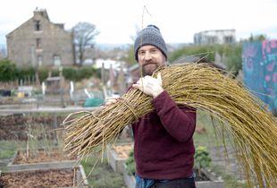 Dan Flack, guerilla gardener