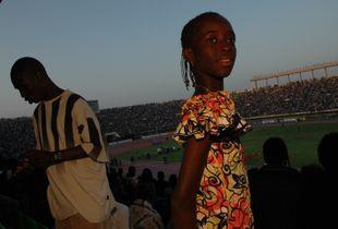 Girls looking for future in Dakar