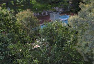 The abandoned pool next door