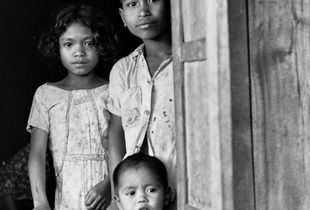 Three Village Children, 1973