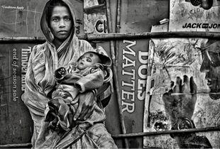 Rag Pickers' slum, New Delhi_1