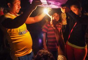 Lantern Lighting El Matal Ecuador 2017