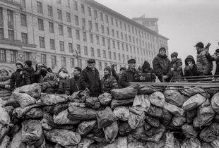 Barricade ,Kiev 2014