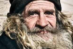 Dereck, A Homeless Veteran.