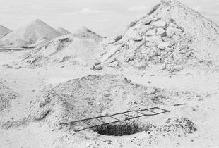 Hole, Coober Pedy, Australia, 2016.
