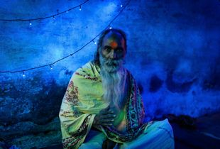 The Blue Sadhu