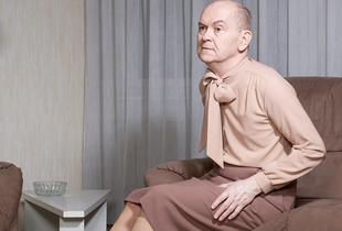André on his couch. © Jouk Oosterhof. Juror's Pick, LensCulture Portrait Awards 2016.