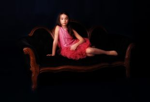 Princess on the sofa