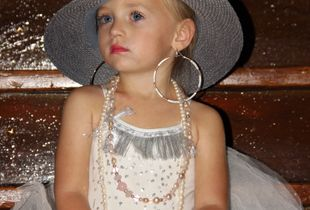 Chloe all dressed up