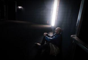 man sitting