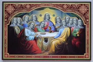 Saint Franklin Last Supper#1